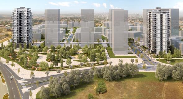 הדמיית פרויקט של חברת אזורים דירה להשכיר ב ראשון לציון, צילום: 3Ddesign