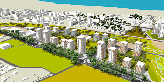 עכו מתרחבת: הוועדה המחוזית לתכנון ובנייה בצפון אישרה תוכנית לבניית 1,200 דירות