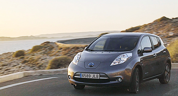 The 2017 Nissan Leaf Photo:PR