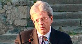 ראש ממשלת איטליה פאולו ג'נטילוני. תומך במהלך , צילום: איי אף פי