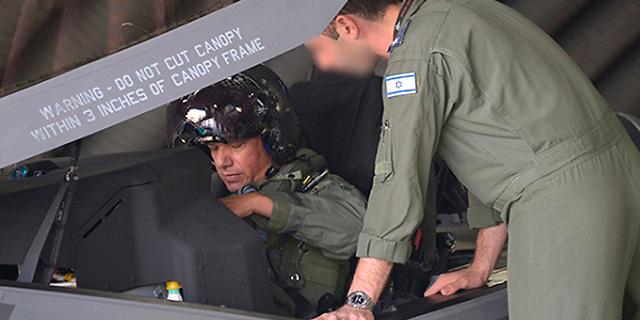 """צפו: מפקד חיל האוויר הטיס את ה-F35: """"יכולות שלא הכרנו"""""""