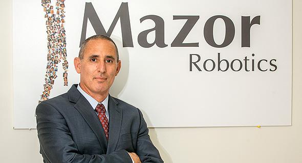 Mazor Robotics CEO Ori Hadomi