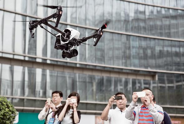 Drone (illustration). Photo: Bloombeerg