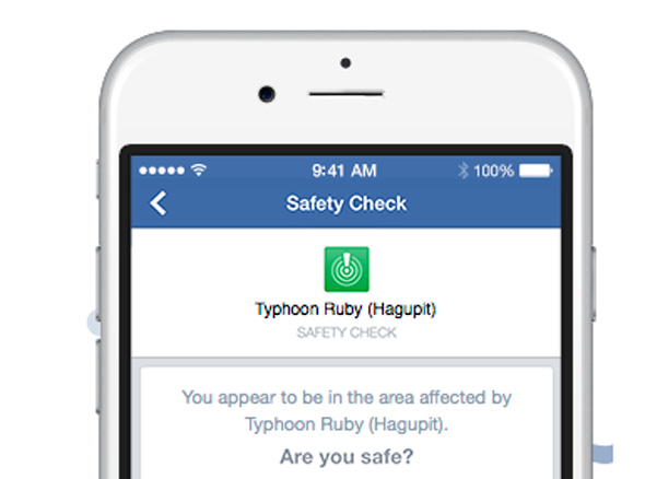 פייסבוק safety check, צילום: facebook