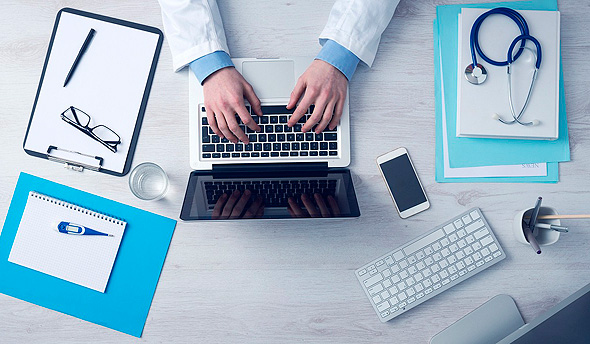 Computerized healthcare (illustration). Photo: Pixabay