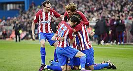 שחקני אתלטיקו מדריד, צילום: איי אף פי