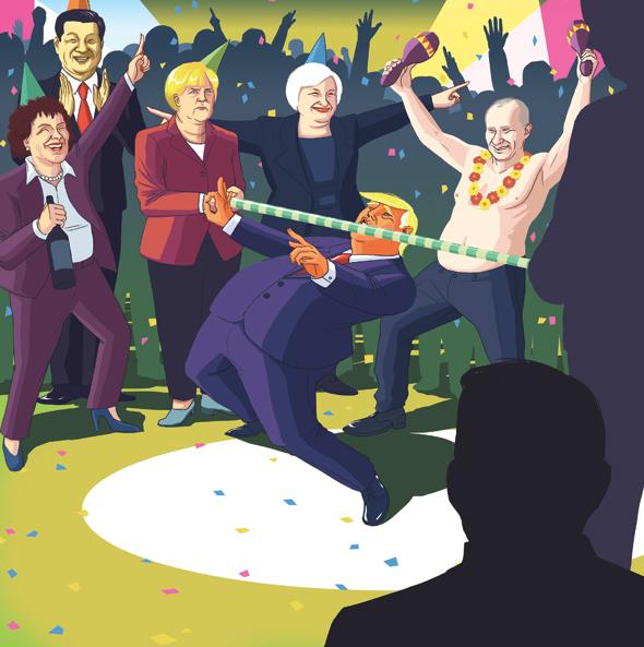 האנשים שיכריעו איך תיראה 2017, איור: דניאל גולדפרב