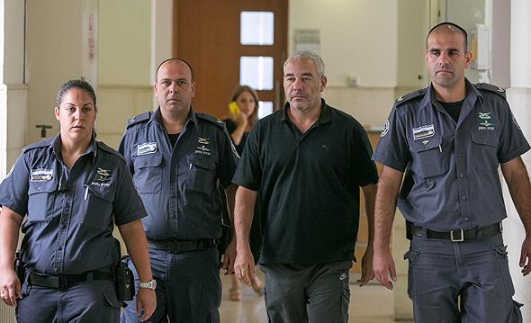 רונאל פישר דיון ב בית משפט מחוזי ב ירושלים, צילום: אוהד צויגנברג