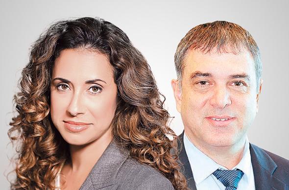 """מימין: מנכ""""ל משרד התקשורת שלמה פילבר ומנכ""""לית HOT טל גרנות גולדשטיין"""