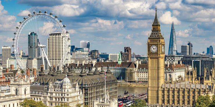 לונדון. ירדה מקום אחד מהשנה שעברה, צילום: גטי אימג