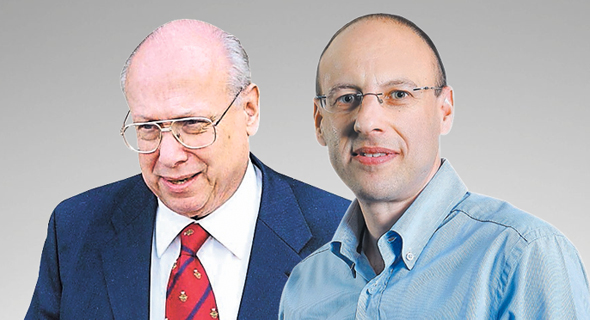 מימין גיל שרון ו גרשון זלקינד, צילום: אוראל כהן, אלכס קולומויסקי