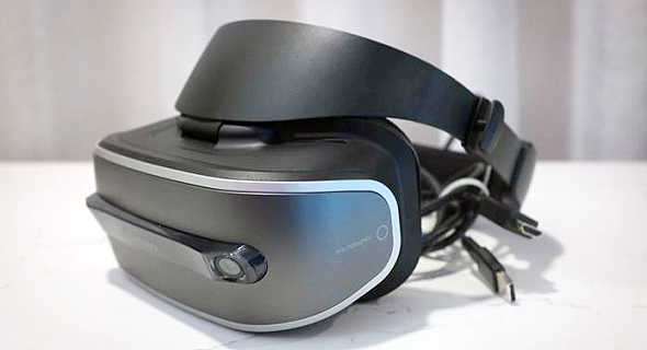 משקפי המציאות המדומה של לנובו, צילום: theverge.com
