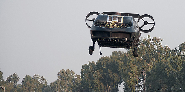 Israeli Rescue UAV Completes First Live Demo