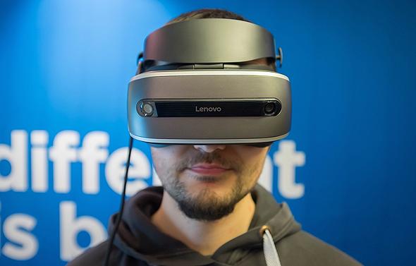 משקפי לנובו VR Lenovo, צילום: theverge.com