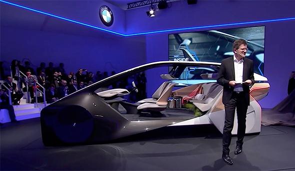מכונית אוטונומית מובילאיי BMW, צילום: מובילאיי