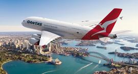 מטוס של חברת התעופה קוואנטס, צילום: Qantas