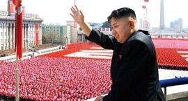 קים ג'ונג און, מנהיג צפון קוריאה, צילום:  KCNA REPUBLIC OF KOREA OUT