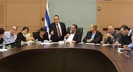 Knesset discussion. Photo: Omri Milman