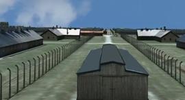 דגם דיגיטלי של אושוויץ שואה, צילום: רויטרס