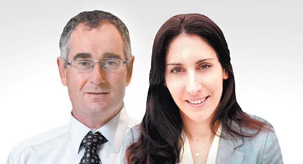 מנהלת ההשקעות של כלל ביטוח לימור דנש ומנהל ההשקעות של הפניקס רועי יקיר