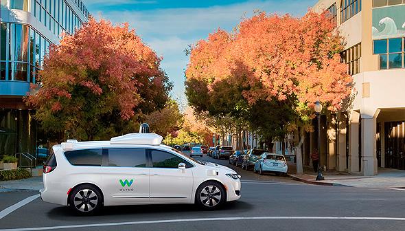 וויימו. חברת הרכב האוטונומי מבית גוגל, צילום: waymo
