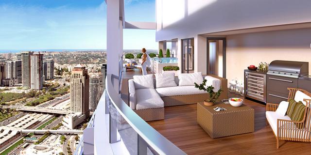 כך ייראו מגדלי העתיד: מגורים משרדים ומסחר במגדלים של מעל 50 קומות בגבעתיים