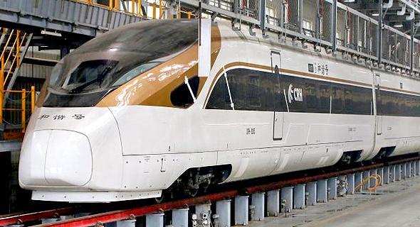 """הרכבת המהירה """"שנגרי-לה"""""""
