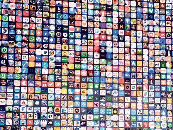 אפליקציות ל-iOS, צילום: בלומברג