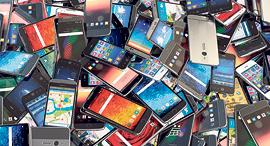 מכשיר אייפון סמארטפון סמארטפונים, צילום: שאטרסטוק