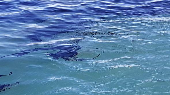 כתם נפט בים מול באשדוד