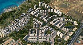 """הדמיה פרויקט אפולוניה הרצליה מוסף נדל""""ן 20.7.16 , הדמיה: מנעד אדריכלים"""