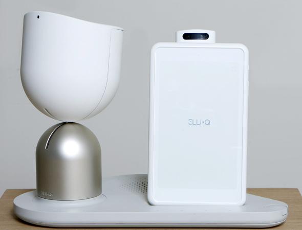 הרובוט ElliQ, צילום: עמית שעל