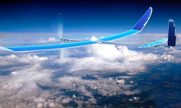 Titan Aerospace טיטאן גוגל רחפן, צילום: Titan Aerospace