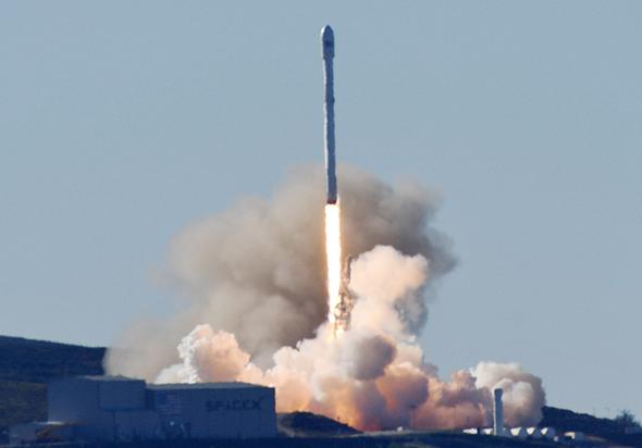 טיל של SpaceX