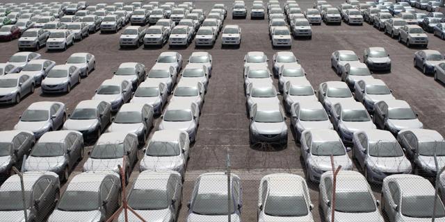 163 אלף מכוניות נמסרו במחצית הראשונה של השנה - ירידה של כ-3%