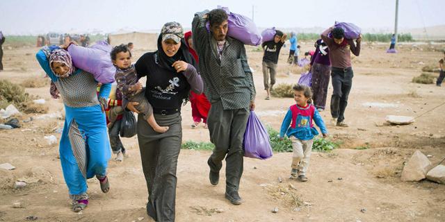 פליטים סורים. חלקם חוזרים לסוריה, צילום: ארגון ישראייד israAID