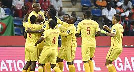 שחקני נבחרת זימבבואה, צילום: איי אף פי