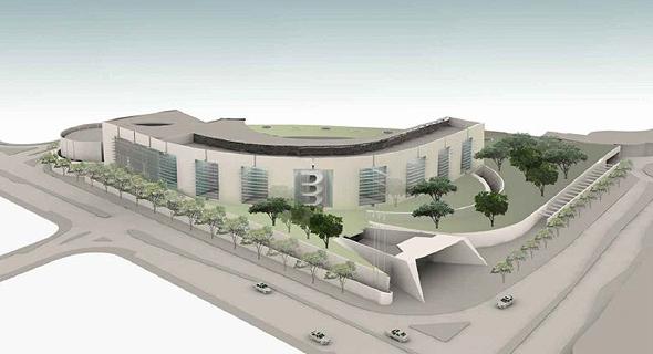 הדמיית משרד ומעון ראש הממשלה, הדמיה: רם כרמי אדריכלים ועדה כרמי-מלמד אדריכלים