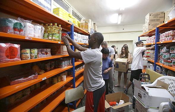 אריזת משלוחי מזון של ארגון לתת