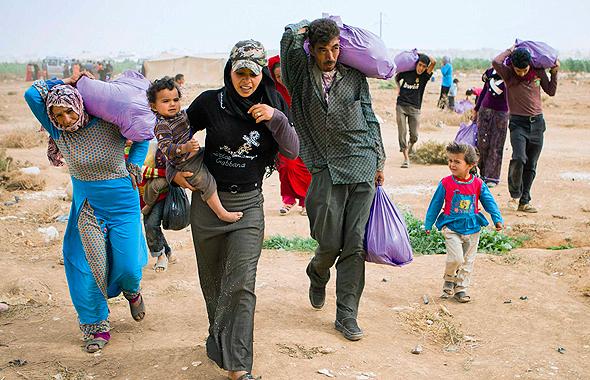 פליטים סורים בירדן. מעמיסים על שירותי הבריאות והחינוך