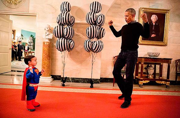 ברק אובמה 33, צילום: Pete Souza / The White House