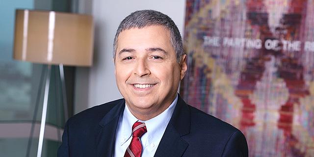 """אריק פינטו מנכ""""ל בנק הפועלים , צילום: רון קדמי"""