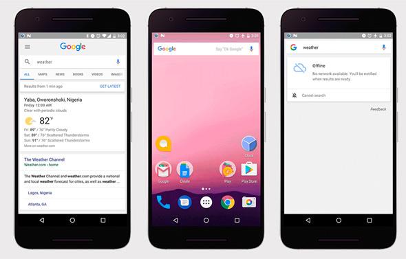 אפליקציה גוגל חיפוש, צילום: blog.google