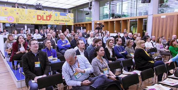 כנס DLD שנערך במינכן, צילום: אתר DLD