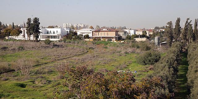 שטח שהופקע בעבר ממגשימים לטובת סביון, צילום: אוראל כהן