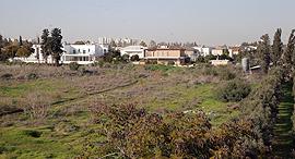 שטח שהופקע ממושב מגשימים לטובת ישוב סביון, צילום: אוראל כהן