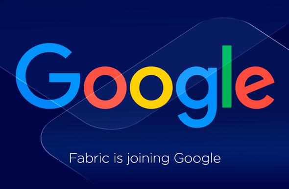 פאבריק גוגל, צילום: fabric.io