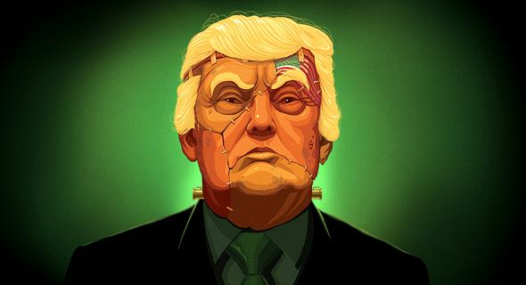 טראמפ. מפלצת שיצרו הרפובליקנים.