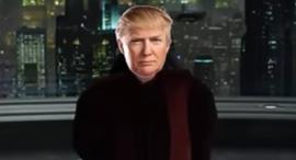 דונלד טראמפ מלחמת הכוכבים, צילום: youtube
