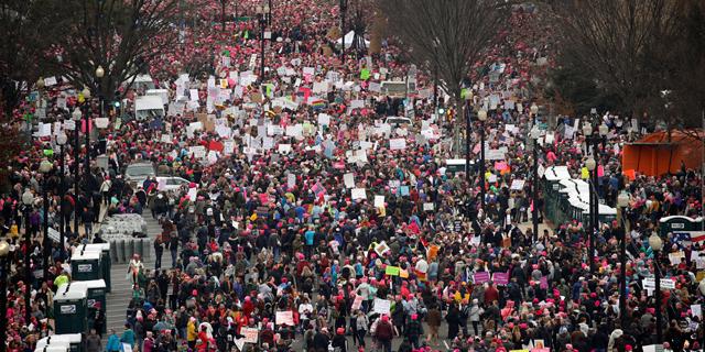 צעדת הנשים. הצלחה בעולם האמיתי, צילומים: רויטרס